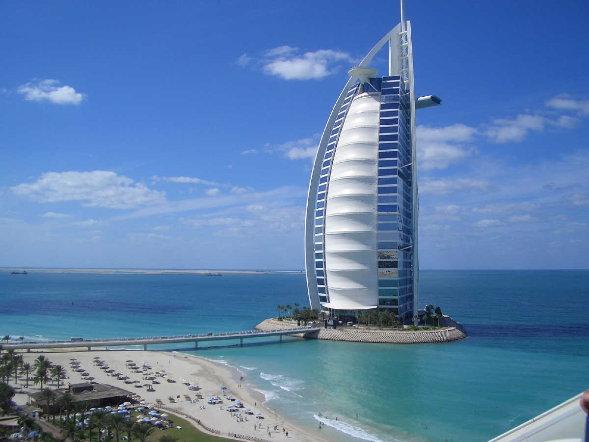 Burj al arab dubai 002 glamorous luxury passion for Top ten hotels in dubai