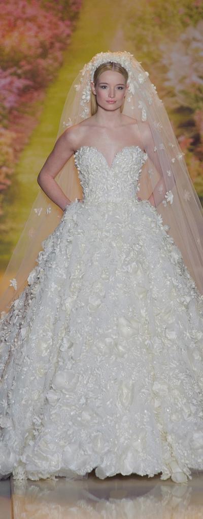 Zuhair Murad Couture SS 2014 wedding gown
